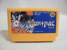 NES -- GUN NAC -- Famicom. Action. Rare. Japan game. Work fully!! 10794