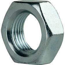 """3/4""""-16 Thin Hex Jam Nuts Grade 2 Steel Electro Zinc Plated Qty 10"""