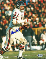 Bears Dick Butkus Authentic Signed 8x10 Photo Autographed BAS #H92173