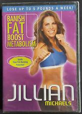 Jillian Michaels - Banish Fat Boost Metabolism (DVD, 2009) NEW/SEALED