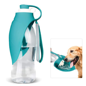 Water Bottle Dog Pet Portable Travel Dispenser Drinking Cup Puppy Outdoor