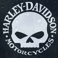Harley Davidson Skull Ride Hardcore Motor Cycles Car Decal Vinyl Sticker