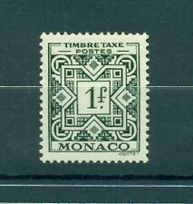 Monaco 1946/57 - Y & T  n. 32 - Timbres-taxe