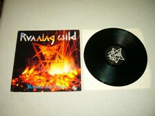 RUNNING WILD --- rare original 1985 BRANDED AND EXILED LP!!!