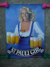 3 St. Pauli Girl posters, 3 are Playboy Playmates