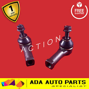 2 x Ford Falcon AU BA BF Power Steering Rack Tie Rod Ends