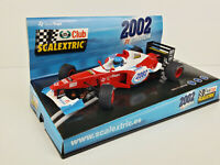 Slot Car Scx Scalextric 6105 F-1 Scalextric Club 2002