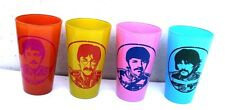 4 Set Beatles Paul McCartney Sgt Pepper's Lonely Hearts Club Band Tumbler Glass