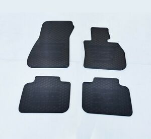 Rugged Rubber Floor Mats Tailored for BMW X1 2015-21 F48 OE shape Odouless