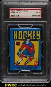 1979 Topps Hockey Wax Pack PSA 7 NRMT