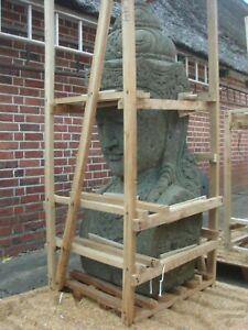 Shiva Naturstein Shiwa Büste 155 cm Buddha Bali Lavastein Skulptur Statue Garten