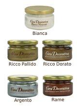 Cera Novecento Decorativa Bianca250ml Made in Italy effetto Décapé su legno