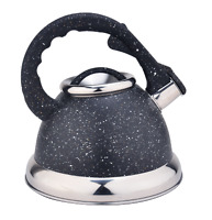 3.4QT Stainless Steel Stovetop Whistling Tea Kettle Teapot Water Kettle Pot