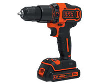 Black & Decker 2 Gear Hammer Drill 18V Lithium-ion Charger Battery Kitbox Torch