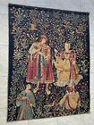 "De Rambouillet Silkscreen Wall Tapestry Of ""Concert Bords De Loire"" 58"" X 76"""