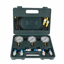 Hydraulic Pressure Guage Excavator Hydraulic Pressure Test Kit With Testing Hose