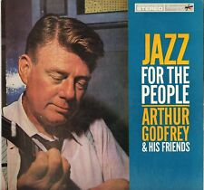 "ARTHUR GODFREY ""JAZZ FOR THE PEOPLE"" VOCAL JAZZ 60'S LP SIGNATURE 1055 POPCORN !"