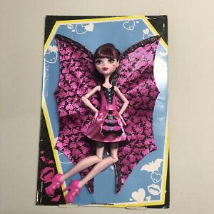 Monster High Draculaura Ghoul To Bat Transformation Doll 2015 RARE
