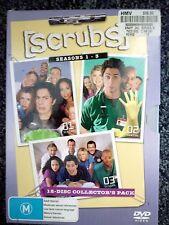 SCRUBS Hospital Drama Seasons 1, 2 & 3 (DVDs, 2006, 12-Disc Set)