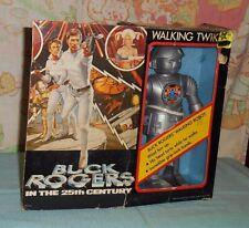vintage Buck Rogers wind-up WALKING TWIKI action figure IN BOX