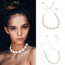 Summer Beach Bohemian Sea Shell Pendant Chain Choker Necklace Jewelry For Womens