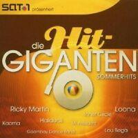 DIE HIT GIGANTEN - SOMMERHITS 2 CD MIT RICKY MARTIN