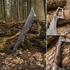 LARP Foam / Latex Bendable Orc Cleaver Axe- 100cm, Ideal for Role Play