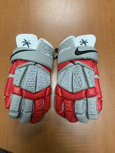 Ohio State Buckeyes Nike Lacrosse Gloves