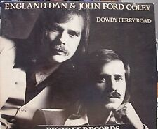 "ENGLAND DAN & JOHN FORD COLEY ""DOWDY FERRY ROAD""  12"" Vinyl LP 1977 VG+ PROMO"