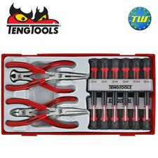Teng 16pc Mini Pliers & Screwdriver Set TTMI16 - Tool Control System