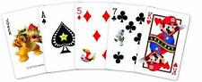 Nintendo Super Mario Neon Playing Cards, New, Free Shipping