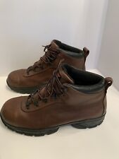 Red Wing ASTM F 2413-11 M/I/75/C/75/EH Men's Sz 14 Brown Leather Steel Toe Boots