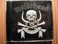 CD Motörhead / March or Die – Album 1992 - OVP