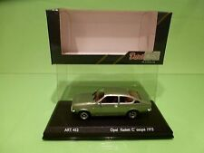 VEREM 452 OPEL KADETT C COUPE 1973 - METALLIC GREEN 1:43 - NEAR MINT IN BOX