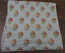 Pottery Barn Euro Pillow Sham Blue red yellow floral