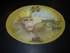 NEW HOLLAND BREWING Monkey King Oval STICKER craft beer brewery dragons milk