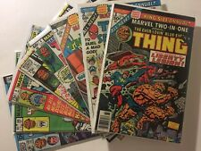 MARVEL TWO-IN-ONE LOT #99 100 & Annual 1 2 3 4 5 6 Thanos Set Run Spiderman