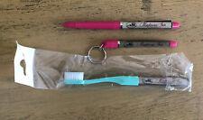 Madonna Inn San Louis Obispo Floaty Pen No Ink Keychain Toothbrush