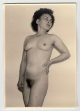 Mature wife posing nude for husband/nudo * VINTAGE 1950s amatoriale Photo #4