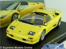 Lamborghini Diablo Roadster Model Car 1 43 Scale Yellow IXO Super 2000 Sports K8