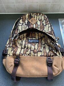 Supreme Treebark Camo Tan Backpack FW06 Brand New With orig tag on bag SUP-898