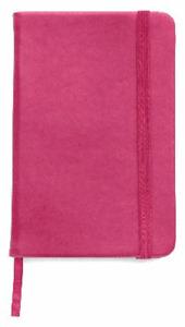 BLOCK NOTES,QUADERNO APPUNTI,rigido 100 pag f.to a6,per borsa/tascabile  FUCSIA