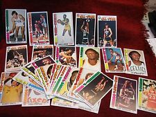 38 DIFFERENT 1976-77 TOPPS LARGE SIZE BASKETBALL CARDS - JABBAR, MARAVICH, BARRY