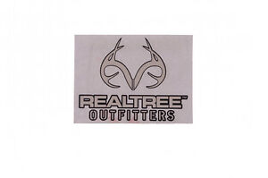 Realtree Outfitters White Car Truck Window Real Tree Decal Sticker Hunting NEW