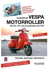 VESPA MOTOR-ROLLER PK PX Cosa Reparaturanleitung Reparaturbuch Handbuch Buch