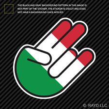 Italian Shocker Sticker Die Cut Decal Self Adhesive Vinyl Italy ITA IT