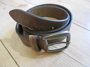 Vintage Belt Leather Belt Heritage Style Nose Art Rockabilly -100