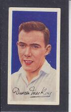 Barratt - Famous Footballers A.8 1960 # 37 Duncan MacKay - Celtic
