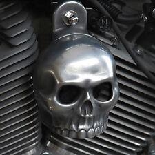 Skull Horn Cover. Aged aluminum.  Harely Davidson. SKU-HA-2