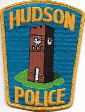 Ohio Hudson POLICE PATCH DISTINTIVO POLIZIA USA ricamate bellissimo Torre di Guardia 13 cm!